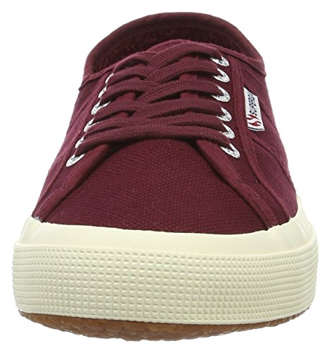 Basses Baskets Adulte dk Superga 2750 Rouge cotu Mixte Classic Bordeaux wFwvSqI
