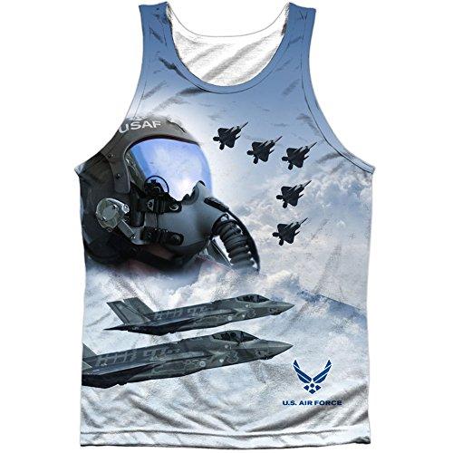 Force Blanco Para Hombre Air Pilot Camiseta RqgO0a