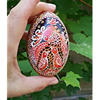 Custom portrait, Family picture, Mama bird with babies, Daddy and Mommy, me and mommy, ornament egg, goose egg pysanka, batik art egg shell