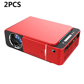 ZUKN Proyector Full 3D HD 1080P 1280X720 Resolución Nativa Home ...