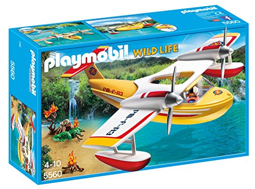 Playmobil Firefighting Seaplane Playset