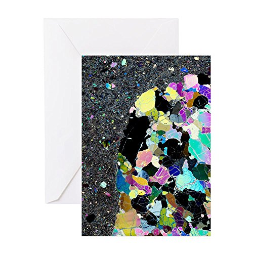 - CafePress Olivine Inclusion In Basalt Greeting Card, Note Card, Birthday Card, Blank Inside Matte