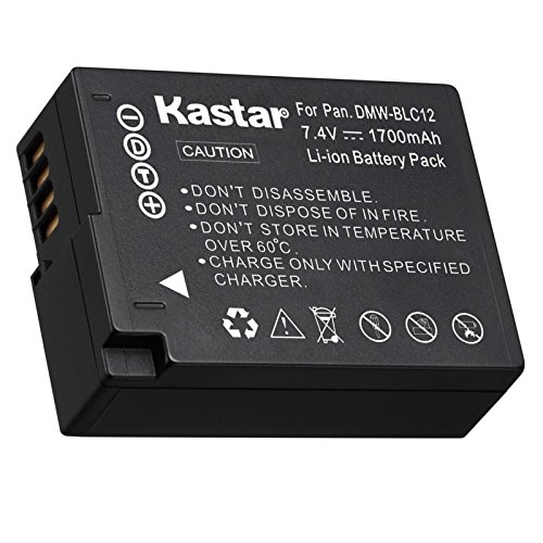 Kastar Battery (1-Pack) for Panasonic DMW-BLC12, DMW-BLC12E, DMW-BLC12PP and DE-A79 Work with Panasonic Lumix DMC-FZ200, DMC-FZ1000, DMC-G5, DMC-G6, DMC-GH2 Cameras (Lumix Fz200 Best Price)
