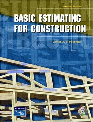 Basic Estimating for Construction (2nd Edition) by Brand: Prentice Hall
