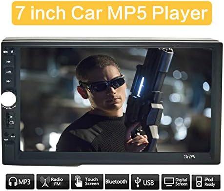 Autoradio 2 din Touch screen Car Stereo Doppia Din Lettore MP3 MP5 con Bluetooth FM USB AUX 7 pollici7012B