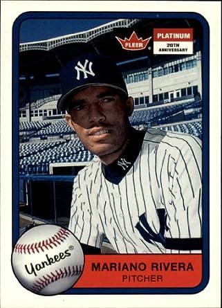 Amazoncom 2001 Fleer Platinum Baseball Card 38 Mariano