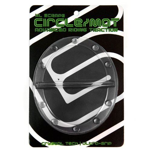 (New Grayne Circle Snowboard Stomp Pad with Scraper Clear Superior Grip)