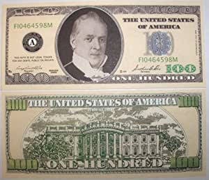 Set of 10 Bills-One Hundred Dollar Bill