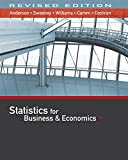 Statistics for Business & Economics, Revised (with XLSTAT Education Edition Printed Access Card)