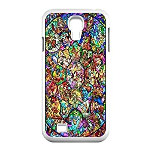 Disney All Characters Stained for Samsung Galaxy S4 I9500 AML779121