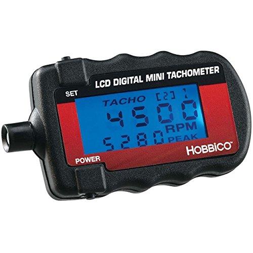 d Digital Tachometer with Blue Backlit LED Display ()