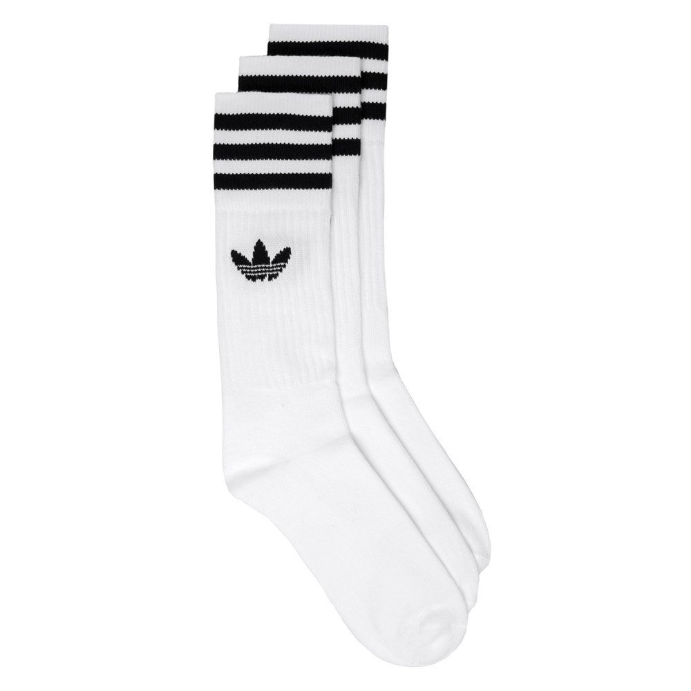 adidas Men's Solid Crew Socks 3 Pairs adidas Originals CE4991