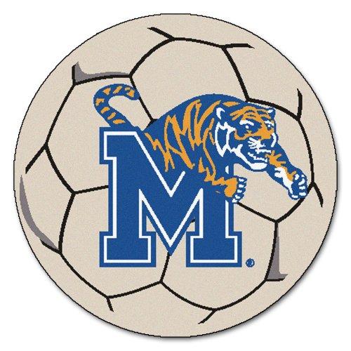 FANMATS NCAA University of Memphis Tigers Nylon Face Soccer Ball Rug