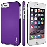iPhone 6 Case,iPhone 6s Case,Vakoo armor Impact Resistant Rugge Durable Shockproof Dual Layer Heavy Duty Protection Case Cover for Apple iPhone 6 and 6s (Purple)