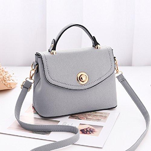 Messenger Shoulder Wild Bag Honglibolso New Temperament Bag Gray Korean Bag Wild Female Tide x8S0qgxv