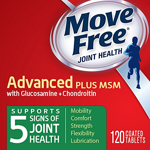 Move Free Advanced Plus MSM, 120 tablets - Joint Health Supplement with Glucosamine and Chondroitin  ()