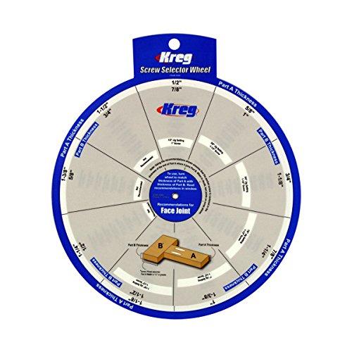 Kreg Tools Ssw Screw Selector Wheel For Kreg Jig K3; K4; K4ms; K5; And