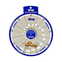 Kreg Tools SSW Screw Selector Wheel for Kreg Jig K3, K4, K4MS, K5, and R3 by Kreg