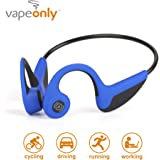 Bone Conduction Headphones Bluetooth Wireless Titanium HiFi Stereo with Mic for Running Driving Cycling Waterproof Open…