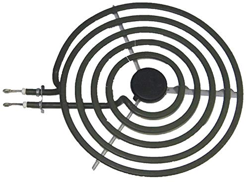 GRP STOVE 8'' SURFACE BURNER ELEMENT 2500 WATTS 5 TURNS Replacement for WHIRPOOL Parts # 660533, 9761345, 8053268, WPW10259865 by GRP
