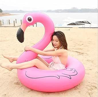 Nexthops Juguete Hinchable Flamenco Rosa para Chicas Flotador ...