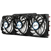 ARCTIC Accelero Xtreme III - High-End Graphics Card Cooler - nVidia & AMD, 3 Quiet 92mm PWM Fans, SLI/CrossFire, Support GTX 1080, GTX 1070, GTX 980 Ti, GTX Titan X, RX 480, R9 390X, R9 290X and more... by ARCTIC