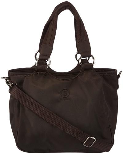 Bogner KELIS - Bolso de mano de material sintético mujer marrón - Braun (coffee 201)