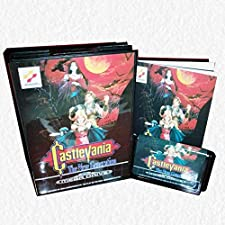 Castlevania the New Generation EU Cover with Box and Manual for Sega MegaDrive Video Game Console 16 bit MD card - US EU Shell - MD card Game Card For Sega Mega Drive For Genesis