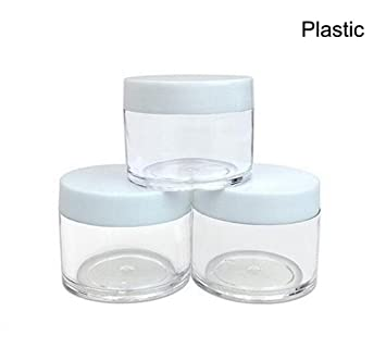 ec82911fbcfd 30g 30ml/1oz Refillable Black and White Plastic Screw Cap Lid with ...