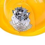 Welecom 2 Pcs Fireman Hat Kid's Fireman Helmet Hard