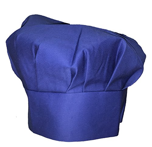 Odelia Tessa's Kitchen Kids - Child's Chef Hat Apron Set, Kid's Size, Children's Kitchen Cooking and Baking Wear Kit For Those Chefs In Training (S 2-5 Year, Blue)