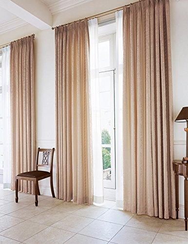 東リ 上質さを感じさせる緻密で繊細な織りの表情 カーテン2倍ヒダ KSA60137 幅:150cm ×丈:230cm (2枚組)オーダーカーテン   B0784WXXBR