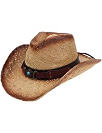 2627b323f03 Western Outback Cowboy Hat Men s Women s Style Straw Felt Canvas