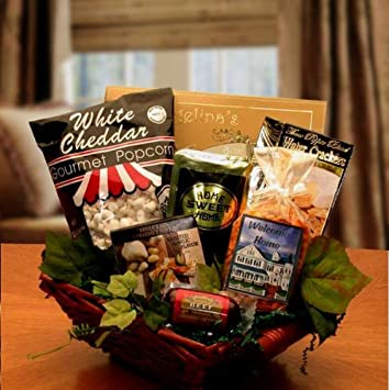 welcome to your new home gift basket red amazon co uk garden