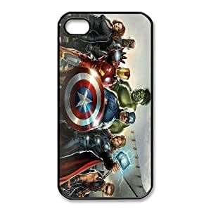 iphone4 4s phone cases Black Avengers Phone cover NAS3832070
