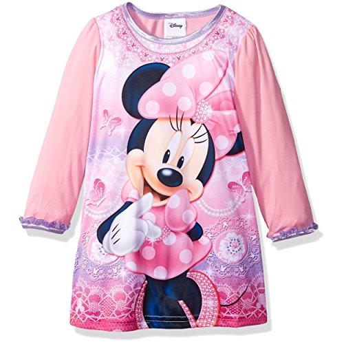 Disney Girls 2T 4T Minnie Nightgown
