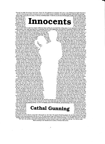 Innocents by [Gunning, Cathal]