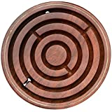 Labyrinth - SouvNear Brain Teaser Hand and Eye Coordination Brain Game Gifts - Wooden Labyrinth Board Game Ball in Maze Puzzle Handcrafted in India