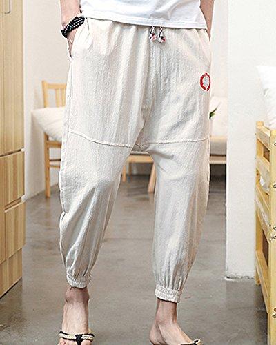 ShiFan Ropa Casual Hombre Holgados del Harem Estilo Ocio Pantalones Tallas  Grandes Caqui 3XL  Amazon.es  Ropa y accesorios 0b84c1ddcb83