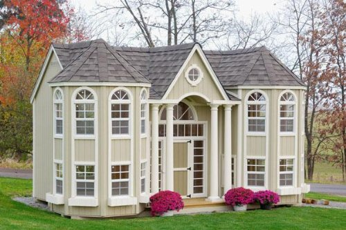 Grand Portico Mansion Playhouse (Playhouse Furniture)