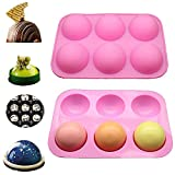 Medium Semi Sphere Silicone Mold, 1 Pack Baking