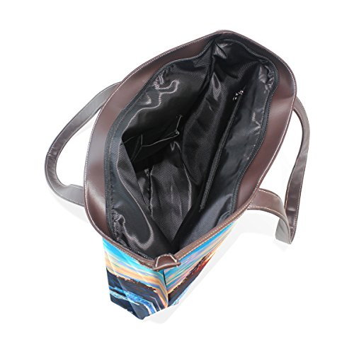 Coosun Womens Spettacolare Alba Pu In Pelle Grande Shopping Bag Maniglia A Tracolla