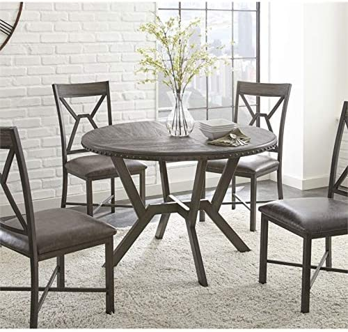 BOWERY HILL 45″ Round Dining Table