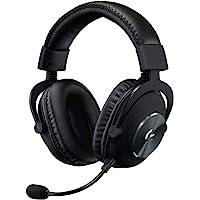 Logitech G PRO X Auriculares Gaming con Cable y Micrófono con Blue VO!CE, DTS Headphone:X 7.1, Controladores PRO-G 50mm…