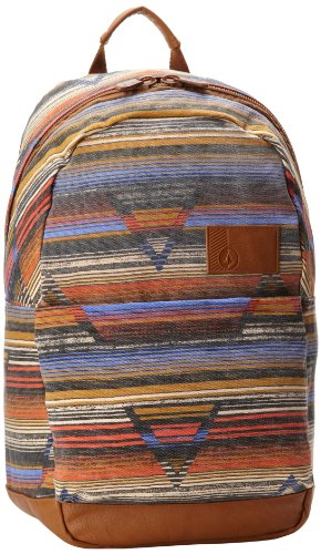 Volcom Juniors Going Back Canvas Backpack, Multi, One Size, Bags Central