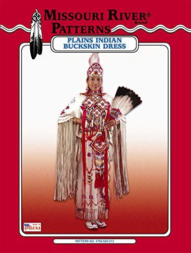 Native Plains Buckskin Dress Pattern