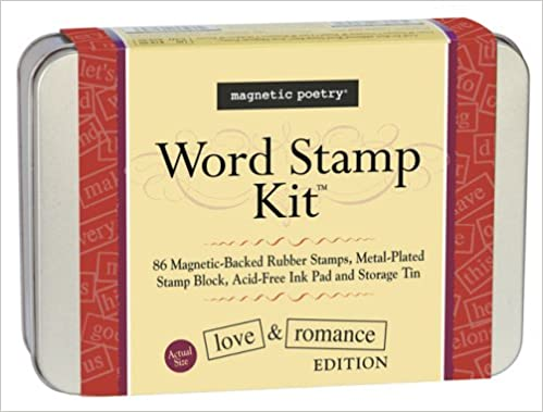 amazon in buy love romance word stamp kit book online at low