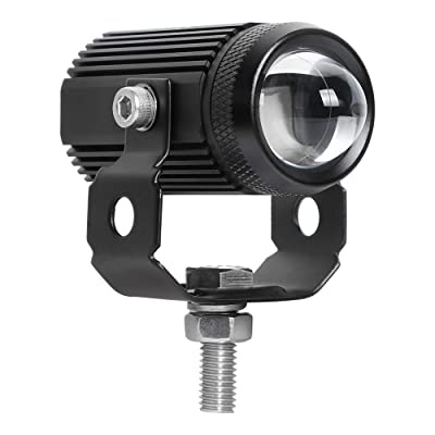 Exzeit Led Driving Light for Motorcycle, High Low Beam Fog Lights Headlights for Bike Polaris Yamaha Can Am ATV UTV, 12/24V, 15W, 3000Lumens 1 pcs: Automotive