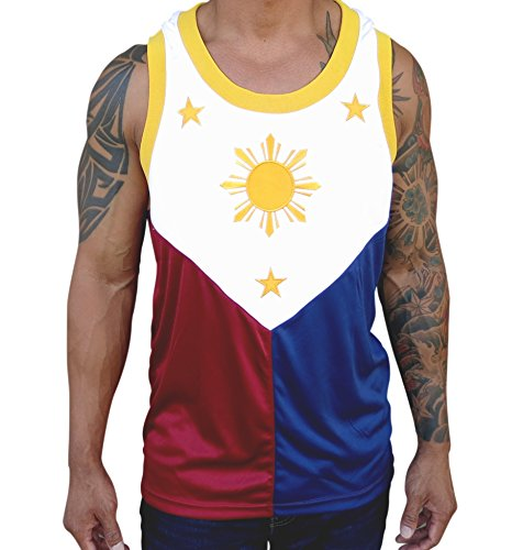 Scoop Neck Filipino Flag Jersey Manny Pacquiao