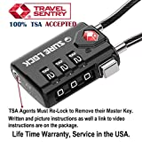 TSA Compatible Travel Luggage Locks, Inspection